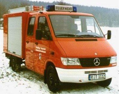 Einsatzfahrzeug der FF Schwarzenthonhausen: Tragkraftspritzenfahrzeug (TSF)